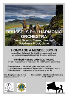 Affiche concert SSD